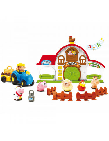 Granja Infantil Animales y Figuras 4892668308354 Juguetes