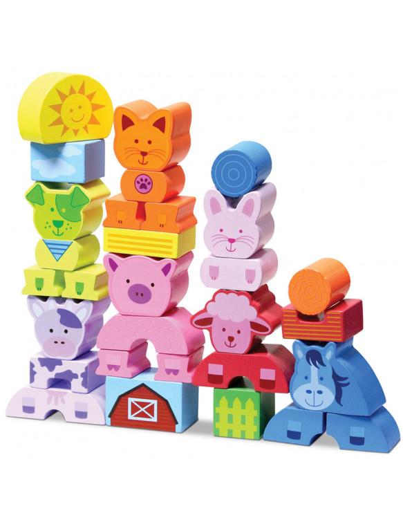Mis Primeros Bloques Animales 834162005739 Juguetes de madera