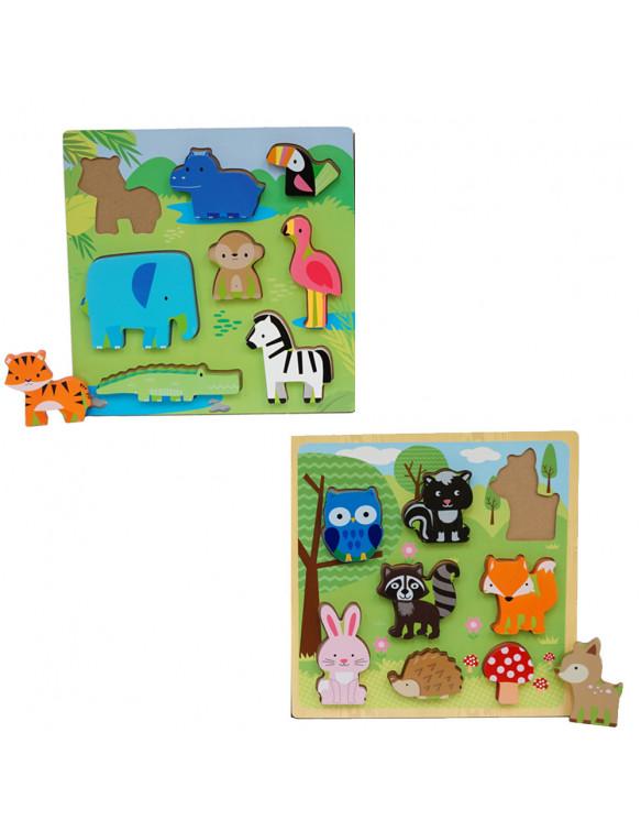 Puzzle Madera 8 Piezas 834162002073