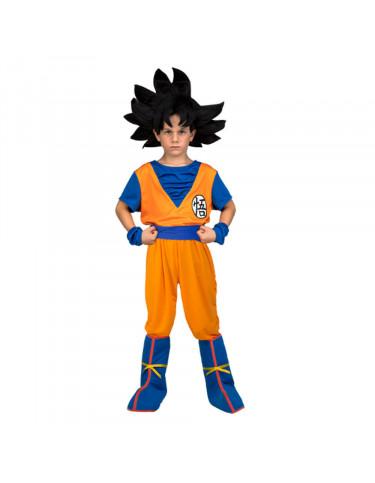 Disfraz Yo Quiero Ser Goku 7 a 9 años 8435435014094 Dragon Ball