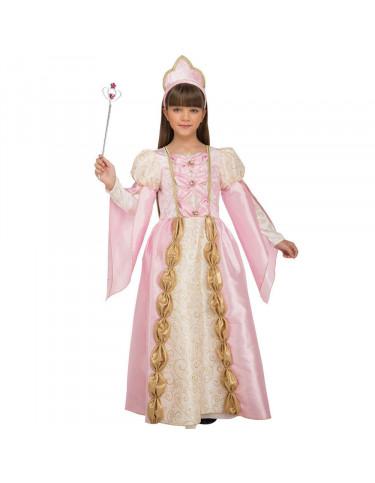 Disfraz Reina Rosa 7 a 9 años 8435408241175