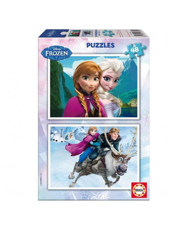 Frozen Puzzles 2x48pz 8412668157682