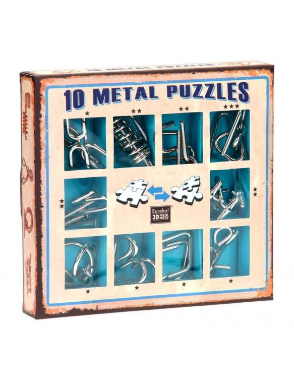 Diez Puzzles de Metal 5425004733566