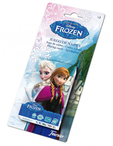 Juego de Cartas Infantil Frozen
