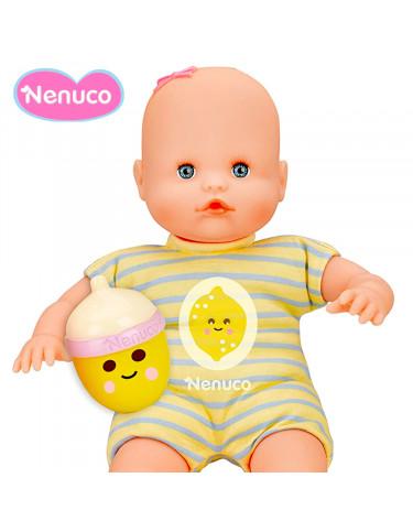 Nenuco Biberón Sonajero Pijama Amarillo