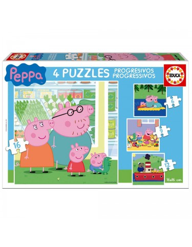Peppa Pig 6/9/12/16pz.