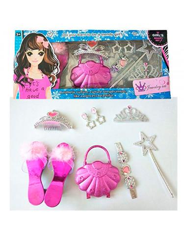 Joyas, Bolso y Zapatos Fantasía 6987654360251 Maquillaje y
