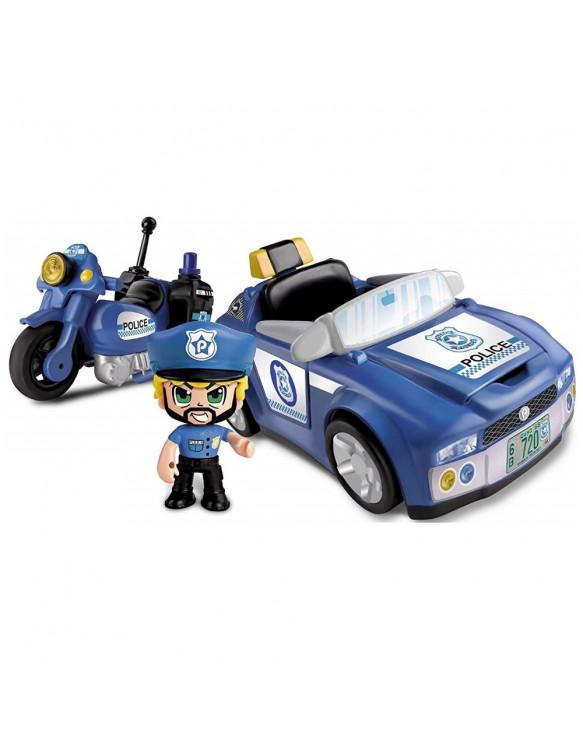 Pinypon Action Policía y Vehículos 8410779058751 Figuras de