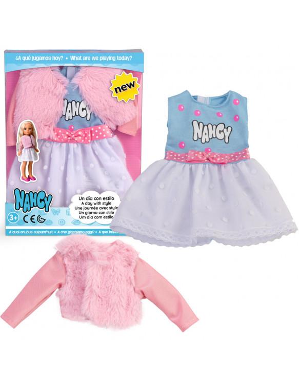 Vestido con Chaqueta Rosa 8410779072283 Nancy