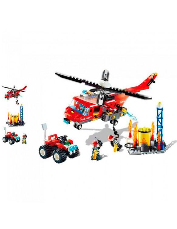 Construcción Bomberos 374 Pzas 5022849738017