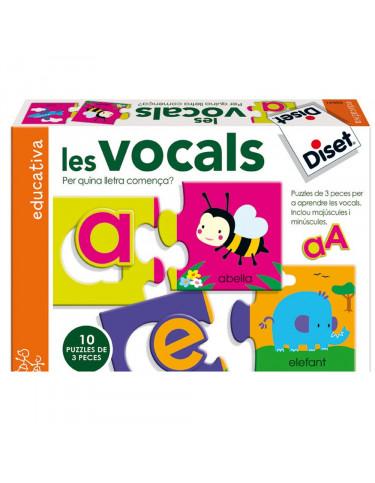 Les Vocals Diset 8410446636411 Juegos educativos
