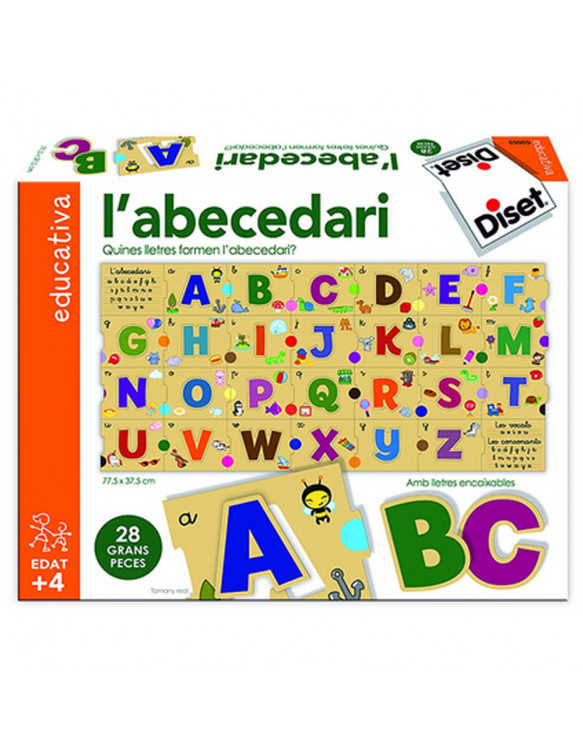 L'Abecedari Diset Català 8410446636633 Juegos educativos