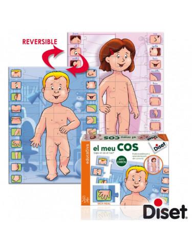 El Meu Cos Diset 8410446636626 Juegos educativos