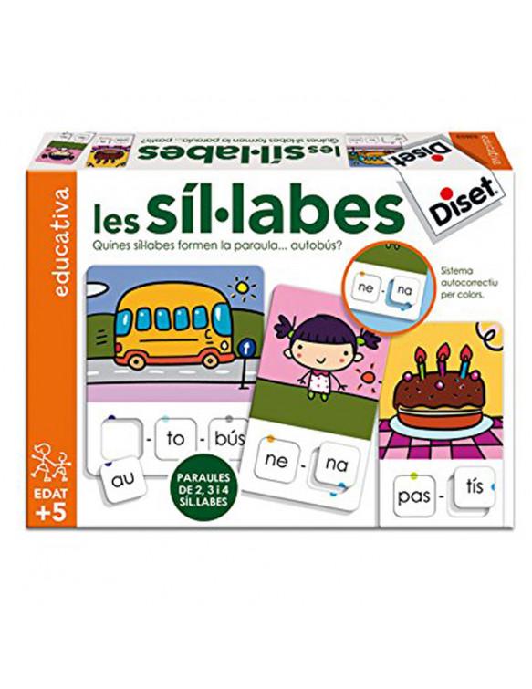 Les Síl.labes Diset Català 8410446636534 Juegos educativos