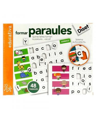 Formar Paraules Diset 8410446636619 Juegos educativos