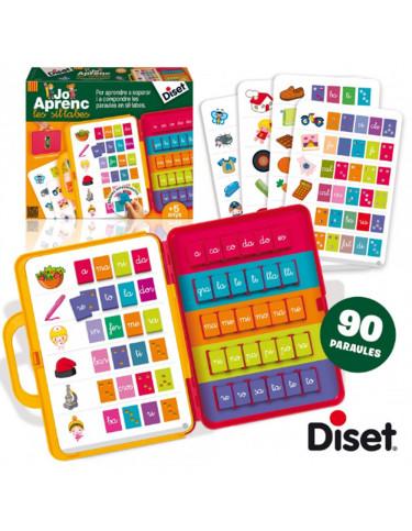 Jo Aprenc les Síl.labes Diset 8410446636589 Juegos educativos