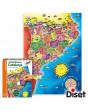 Puzzle Comarques de Catalunya Català 8410446636640 Menos de 500