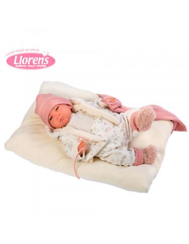Reborn Bebé Conjunto blanco y Rosa 8426265180080 Bebés