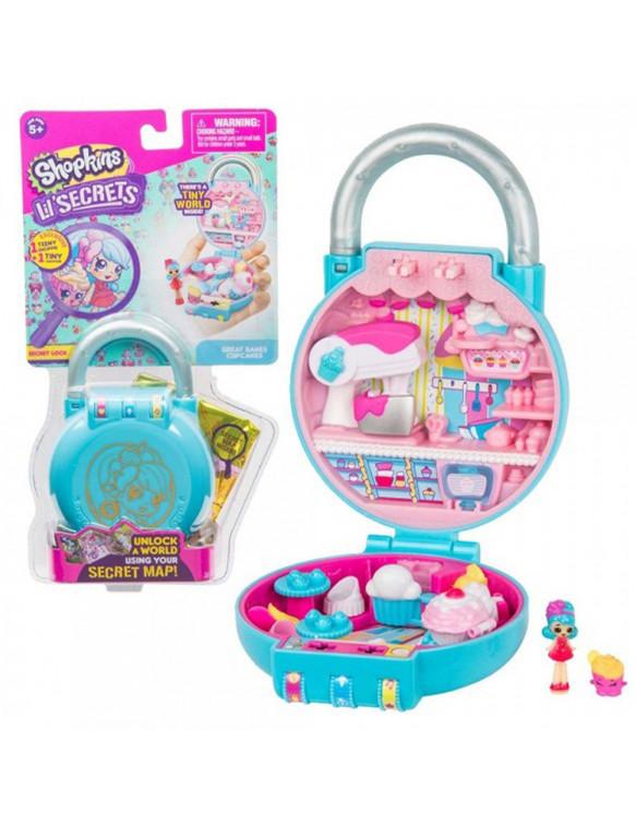 Shopkins Lil Secrets 8056379057949 Escenarios y accesorios