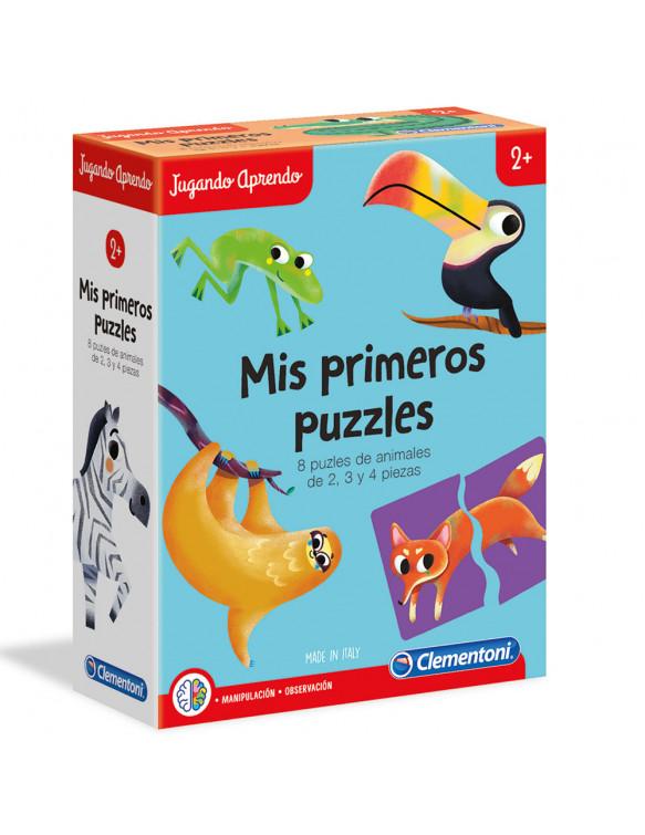 Puzzles formas de Animales 8005125553136 Menos de 25 piezas