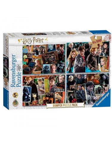 Harry Potter Puzzle 4x100pz