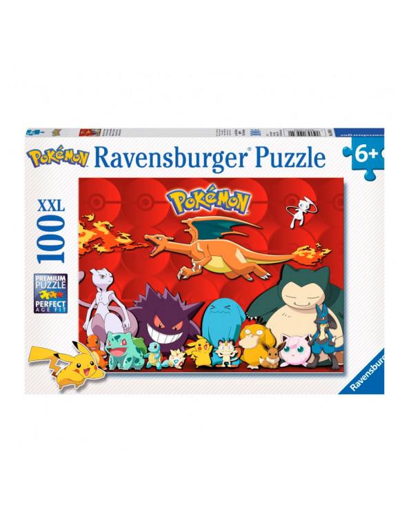 POKÉMON XXL Puzzle 100pz 4005556109340 Menos de 100 piezas