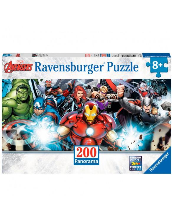 AVENGERS XXL PANORAMA Puzzle 200 4005556127375 Menos de 500