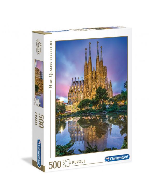 BARCELONA Puzzle 500pz 8005125350629 Menos de 500 piezas