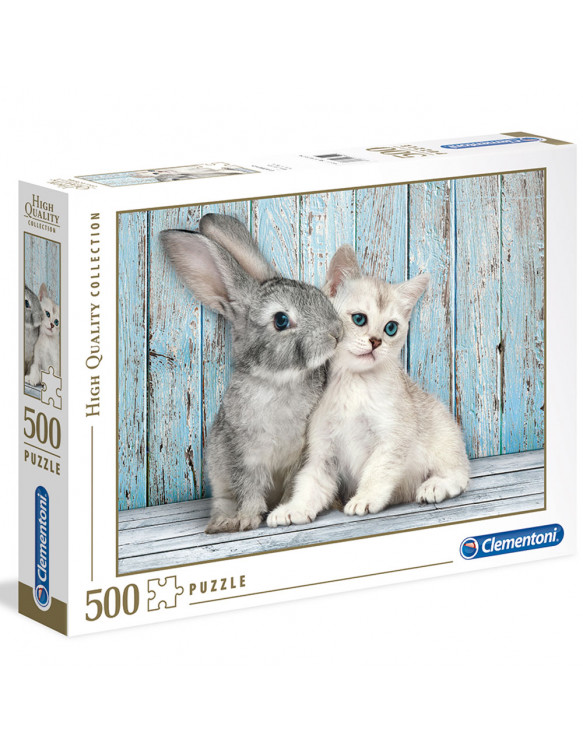 GATO & CONEJO Puzzle 500pz 8005125350049 6 - 9 años