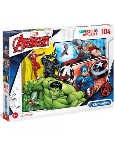THE AVENGERS Puzzle 104pz 8005125272846 Menos de 100 piezas