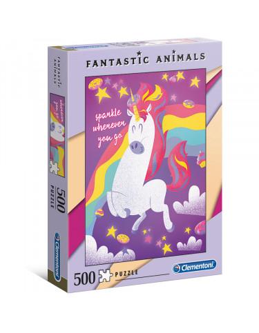 UNICORNIO Puzzle 500pz 8005125350667 Menos de 500 piezas