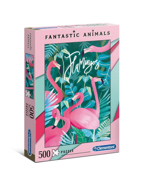 FLAMINGO Puzzle 500pz 8005125350674 Menos de 500 piezas