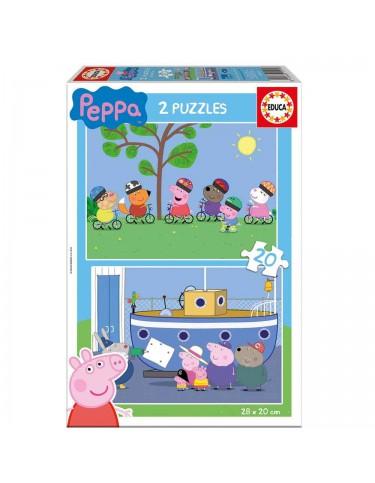 Peppa Pig Puzzle 2x20pz