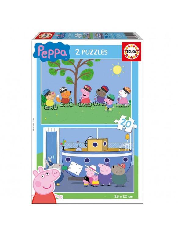 Peppa Pig Puzzle 2x20pz 8412668159198