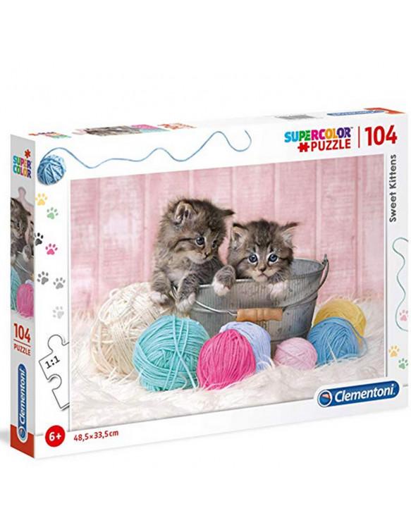 GATITO Puzzle 104pz 8005125271153 Menos de 100 piezas
