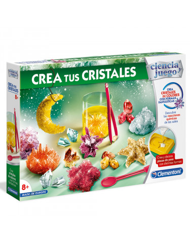 CREA TUS CRISTALES 8005125552887 Experimentos