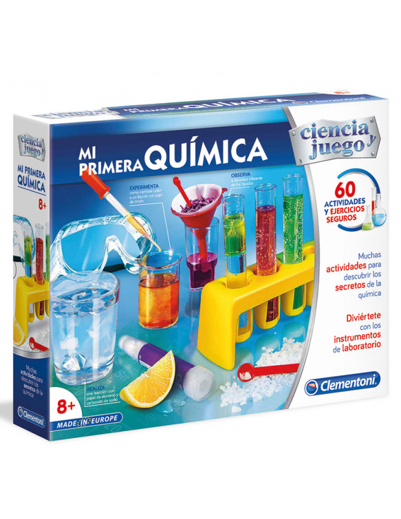 MI PRIMERA QUIMICA 8005125553396 Experimentos