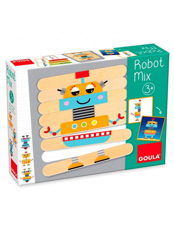 ROBOT MIX 8410446502129 Juguetes de madera