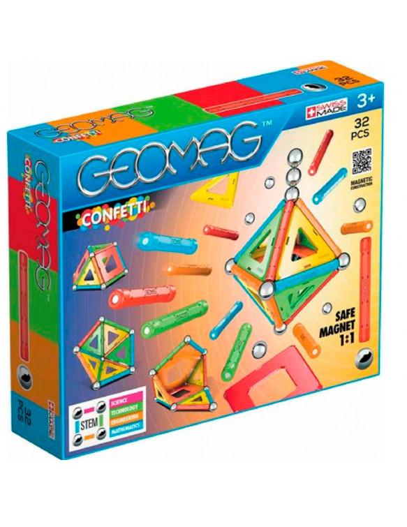 GEOMAC CONFETTI 32 871772003502 Geomag