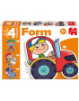 FORM GRANJA Puzzle 8410446699492 Encajables y rompecabezas