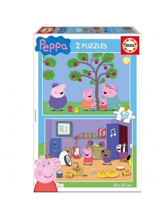 Peppa Pig Puzzle 2x48pz 8412668159204