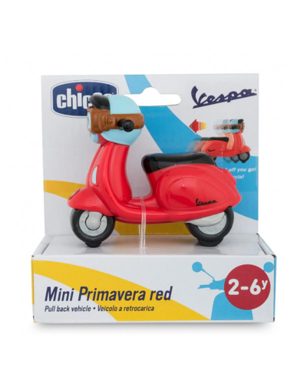 MOTO VESPA ROJA MINI TURBO TOUCH 8058664099184 Coches, motos y