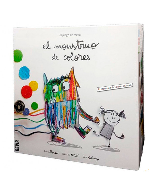 El Monstruo de Colores 8436017227639 Juegos educativos
