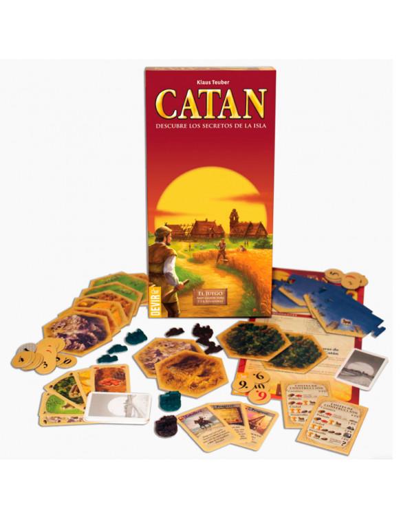 Catan 5-6 Jugadores Expansión 8436017220063 Juegos de mesa