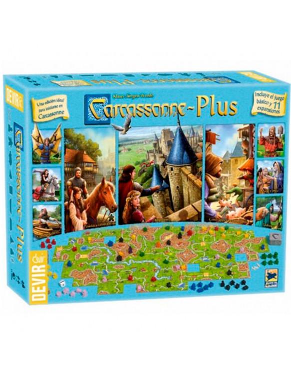 Carcassonne Plus 8436017225761 Juegos de mesa