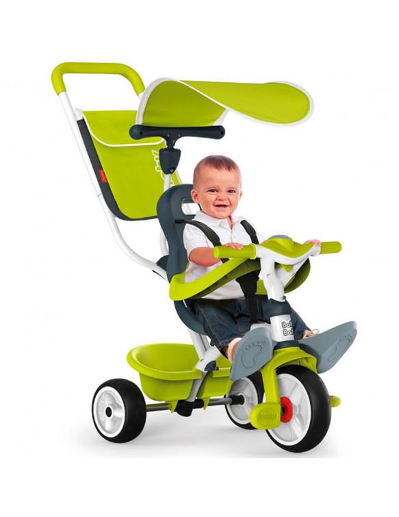 TRICICLO BABY BALADE VERDE 2 3032167411006 Sobre ruedas