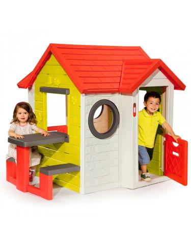 CASA MY HOUSE CON MESA 3032168104013 Casas de Jardín
