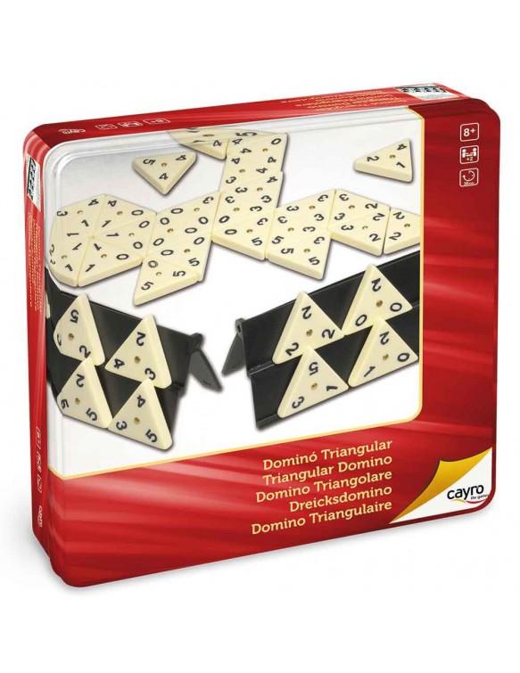 Dominó Triangular Metal Box 8422878707546