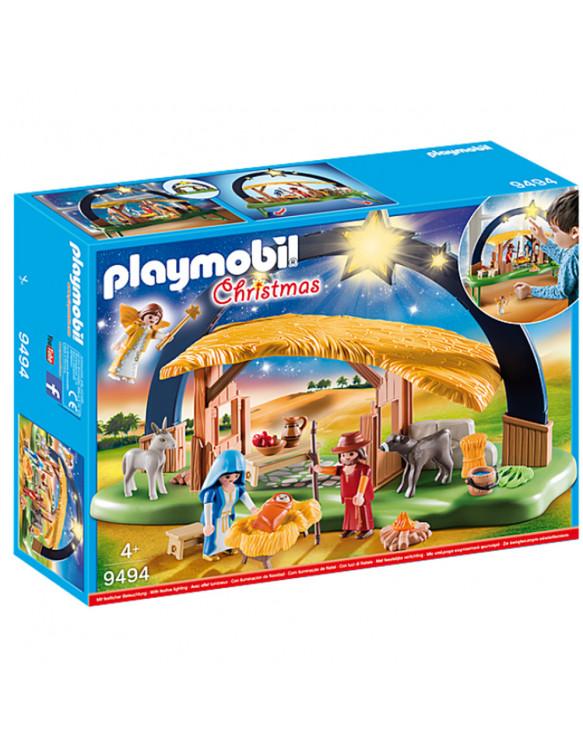 PLAYMOBIL 09494 BELÉN CON LUZ 4008789094940 Playmobil