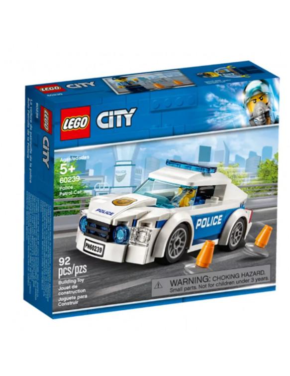 LEGO 60239 COCHE PATRULLA DE LA POLICÍA 5702016396201 Lego
